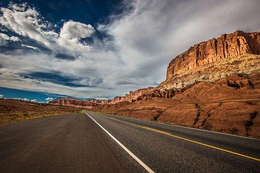 Road, Utah, Rocks, Wanderlust, Travel, Roadtrip