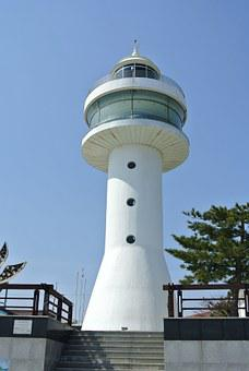 Lighthouse, Mukho Lighthouse, Mukhohang, Sea