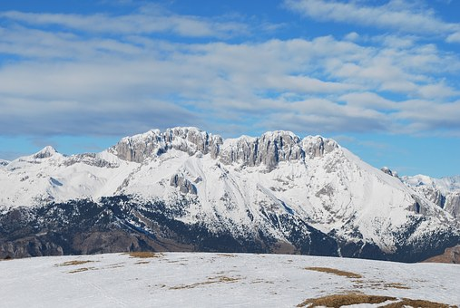 Mountain, Presolana, Landscape, Winter, Snow