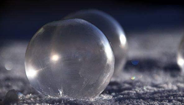 Blow, Soap Bubbles, Bubble, Pattern, Balls, Reflection