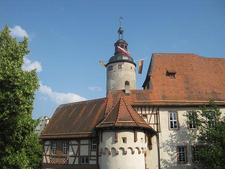 Castle, Tauberbischofsheim Germany, Architecture