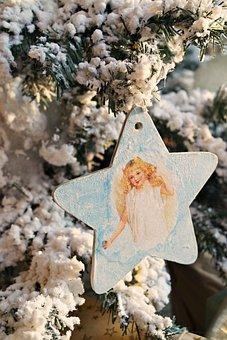 Christmas Tree, Angel, New Year's Eve, Comfort