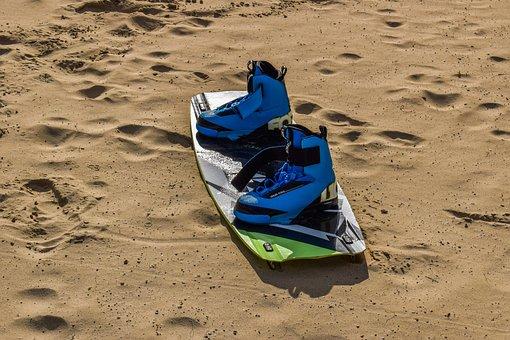 Kite Surfing, Sport, Equipment, Board, Surfing Boots