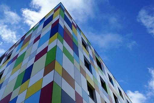 House, Charlie, Hotel Tuttlingen, Colorful, Color, Red