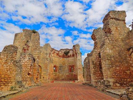 Colonial, Sixteenth Century, Heritage, Ruins, Monastery