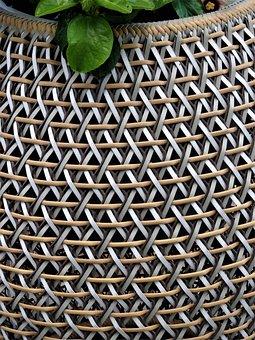 Basket, Basket Ware, Wattle, Decorative, Particulars