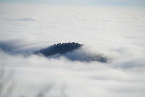 Jura, Eastern Jura, Swiss Jura, Fog, Nebellandschaft