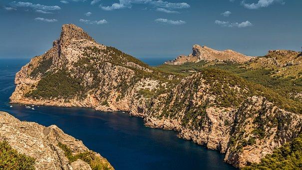 Formentor, Mountains, Mountain, Sea