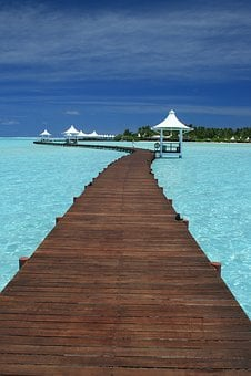 Maldives, Travel, Indian Ocean, Ocean, Beach, Tropical