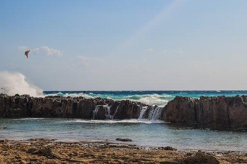 Wave, Crashing, Rocky Coast, Water, Nature, Sea, Beach