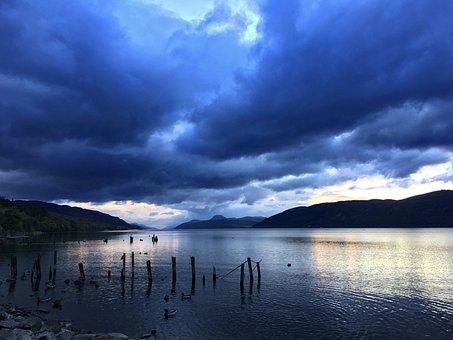 Scotland, Loch Ness, Highlands And Islands, Water