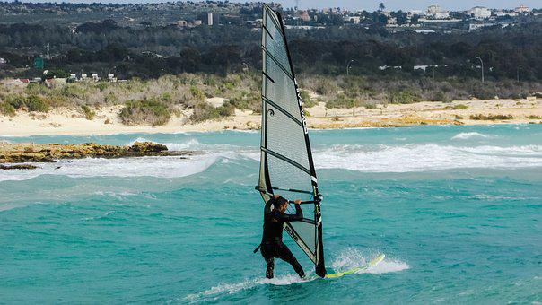 Wind Surfing, Sport, Extreme, Man, Surfing, Sea, Surfer