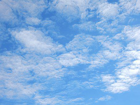 Cloud, Wind, Sky, Nature, Blue, White, Air, Fly, Flight