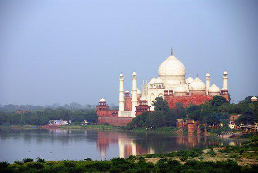 India, Travel, Agra, Taj Mahal