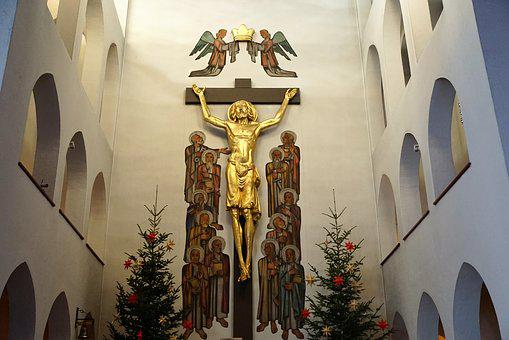 Church, Jesus, Tuttlingen, Religion, Germany, Holy