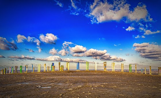 Sky, Blue, Clouds, Nature, Sky Blue, Nice Weather, View