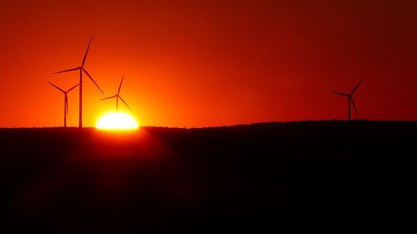 Wind Park, Windräder, Wind Power, Renewable Energy