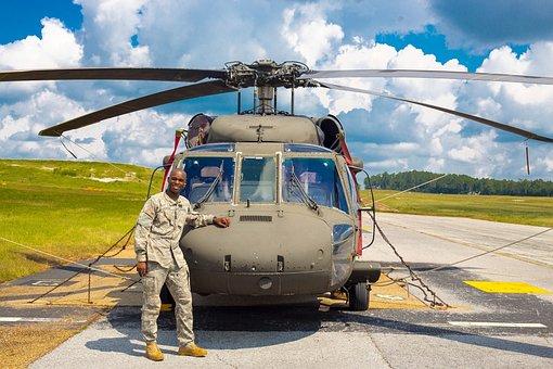 Black Hawk, Army, African American, Aircraft, War