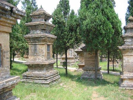 Cemetery, Shoalin, China