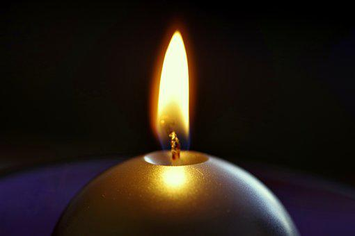 Candle, The Flame, Fire, Chandelier, Mood, Lighting