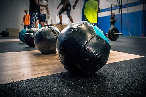 Crossfit, Fitness, Box, Balloon, Medicinal Alon