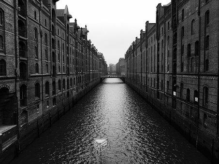Speicherstadt, Hamburg, Old Speicherstadt, Kontorhaus