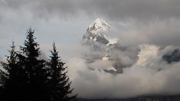 Mountains, Alps, Junfrau