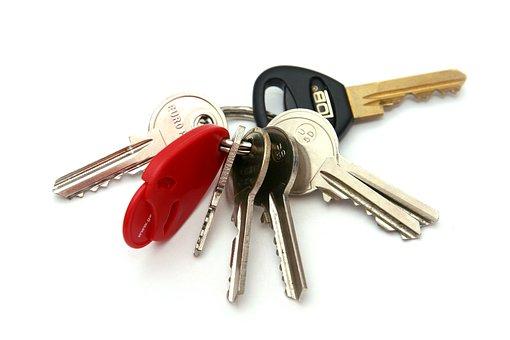 Keys, Keychain, Keys On A Ring, Castle
