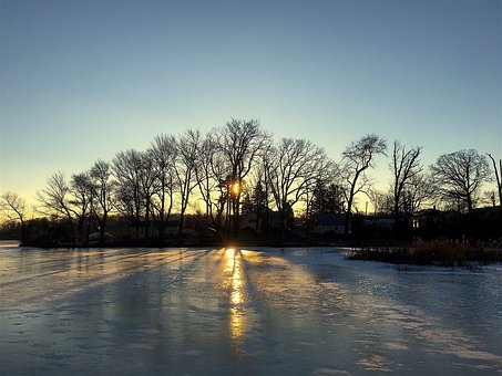 Ice, Lake, Winter, Snow, Cold, Nature, Water, Landscape