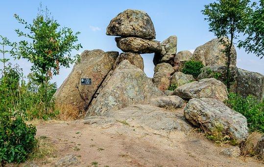 Ancient, Thracian, Megalith, Bulgaria