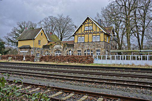 Railway Station, Osnabrück, Train