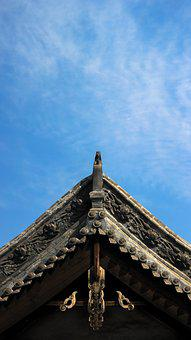 Cornices, Chinese Ancient Architecture, Taiyuan, Roof