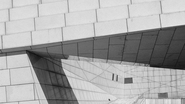 Light And Shadow, Line, Simple, Positive, Building