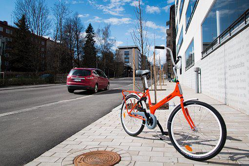 Bicycle, City, Street, Bike, Urban, Jyväskylä, Traffic