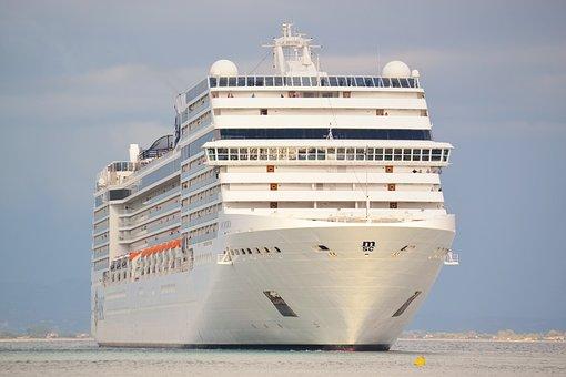 Cruise Ship, Boat, Sailing, Travel, Sea, Ocean
