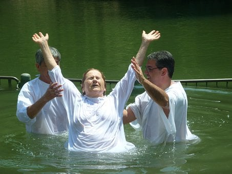 Baptism, Christianity, Jordan River, Yardenit, Israel
