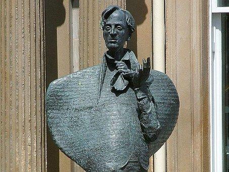 Yeats, Statue, Sculptures, Art
