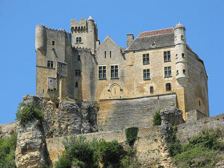 Castle, Beynac And Cazenac, France