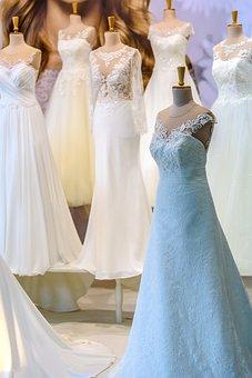 Salon Of Wedding Dresses, Bride, Wedding, Wedding Dress