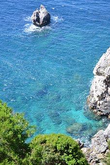 Corfu, Greece, Ocean
