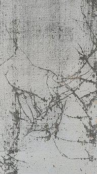 Background, Grunge, Grundge, Bw, Texture, Crack, Broken