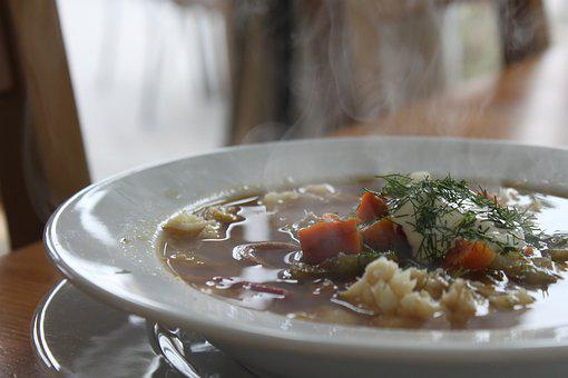 Dish, Soup, Eating, Fish Soup, Sea, Meal, Food, Kitchen