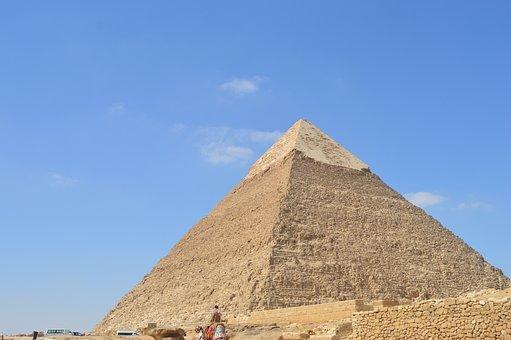 Egypt, Pyramid, Travel, Pharaoh, Africa, Khufu, Stone