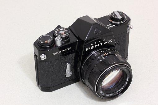 Asahi, Pentax, Optical, Japan, Slr, 35mm, Film Camera