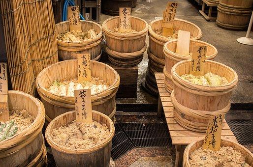 Japan, Japanese, Nipon, Food, Nishiki, Kyoto, Asia