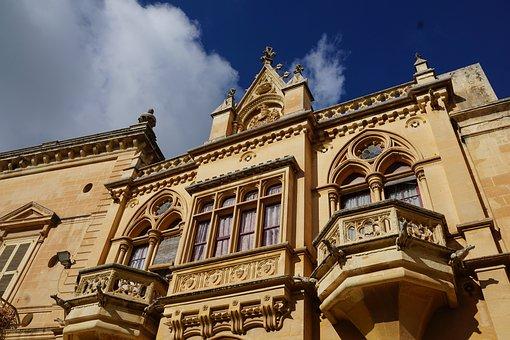 Malta, Mdina, Church, Gothic