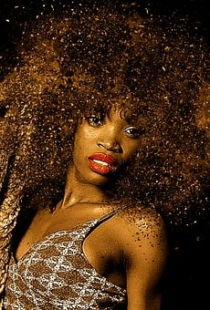 Woman, Portrait, Face, Hair, Lure, Afro, Sensual, Sexy