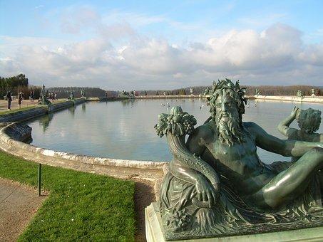 Vrsailles, France, Famous, Old, Historic