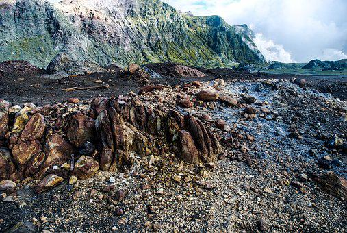 Volcano, Rock, Nature, Volcanic, Landscape, Mountain