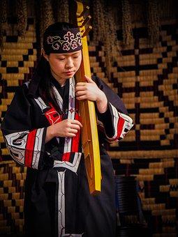 Musical Player, Performance, Ainu